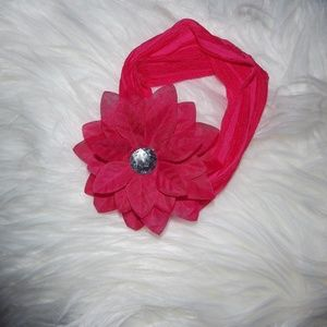 Other - PINK BABY HEADBANDS